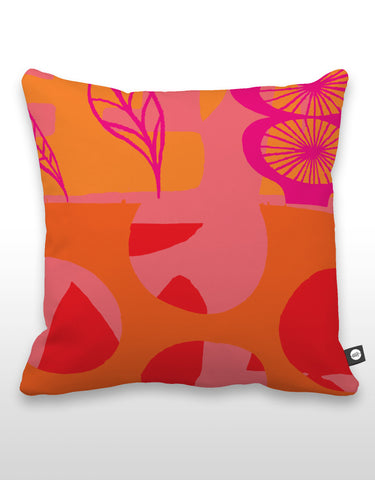 NCC Pink Leaf Pillow