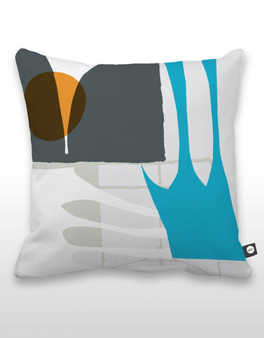 NCC Orange Dot Pillow