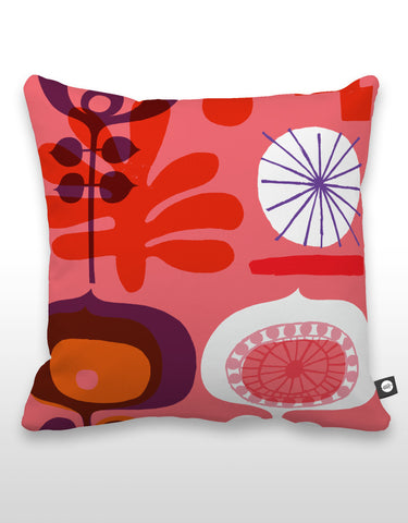 NCC Red Flower Pillow