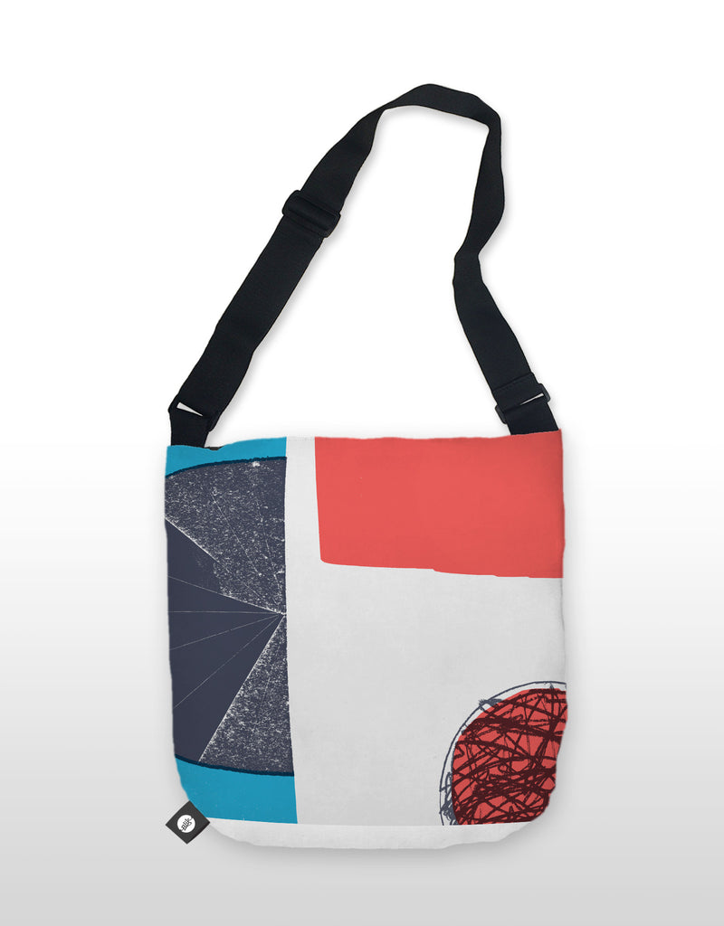 NCC Red Scribble Tote