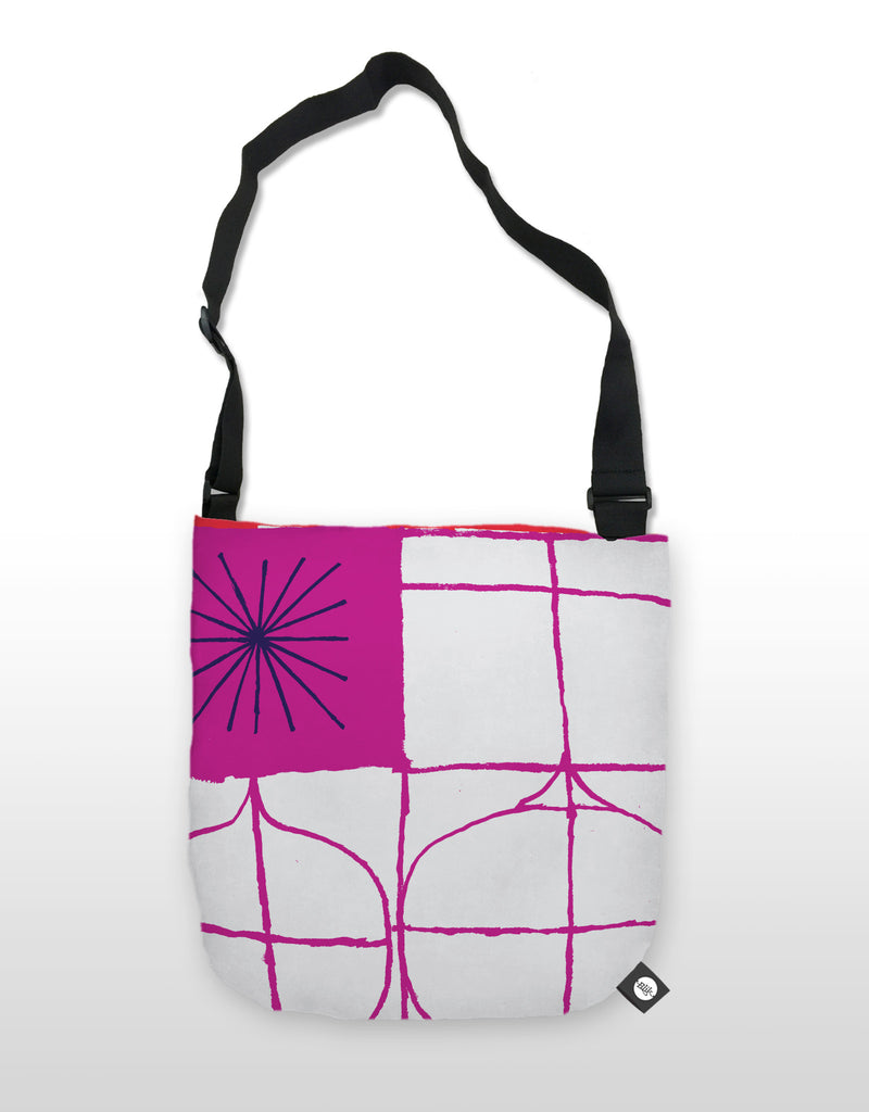 NCC Purple Leaf Tote