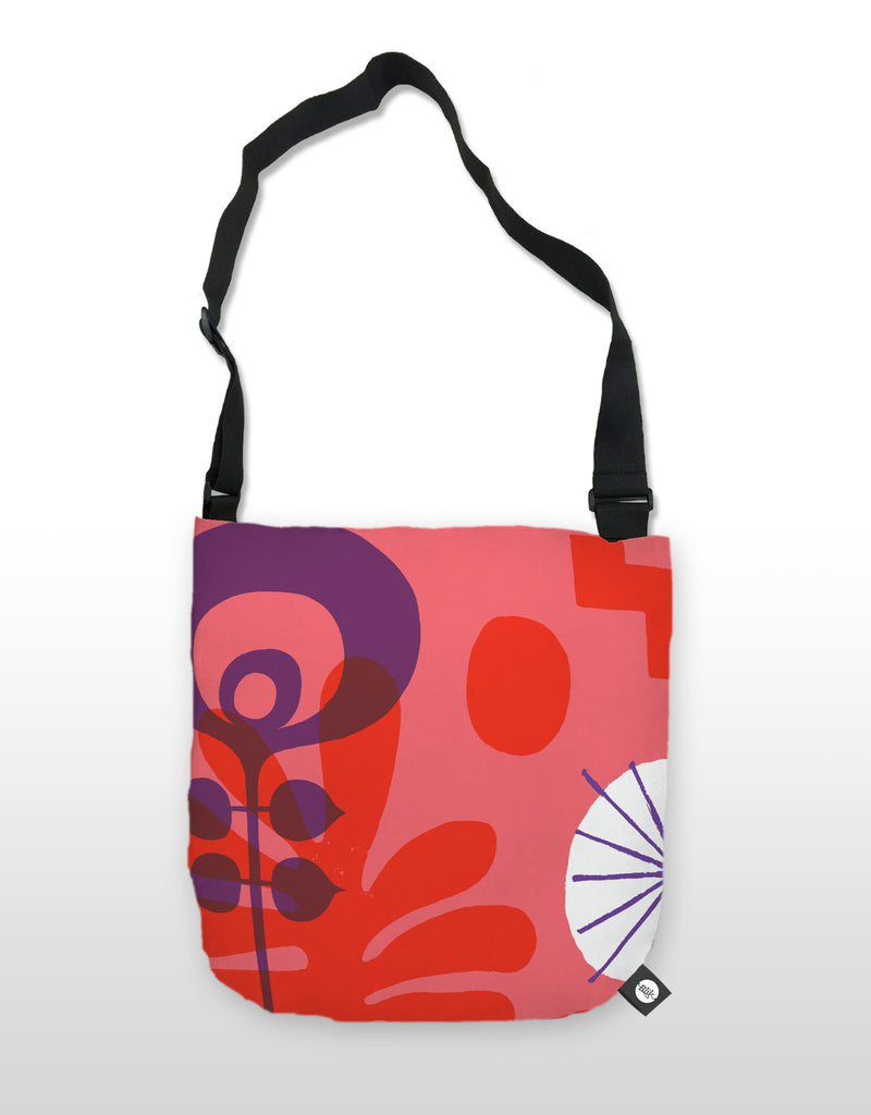 NCC Red Flower Tote
