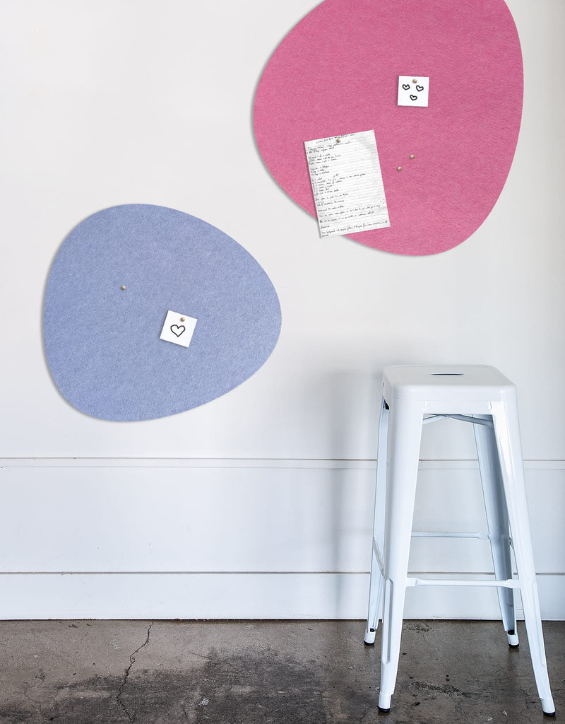 Pebble Pinboard, Large in Pink