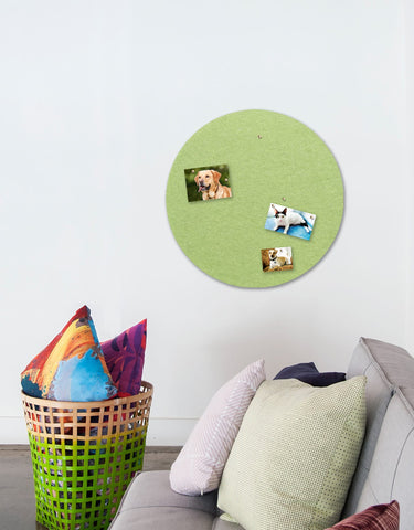 Circle Pinboard, Large in Pear