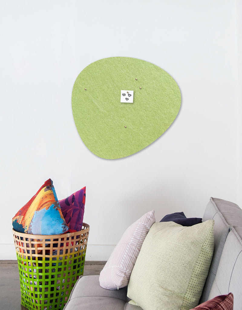 Pebble Pinboard, Large in Pear
