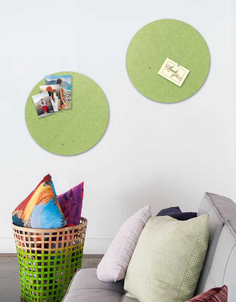 Circle Pinboard, Small in Pear