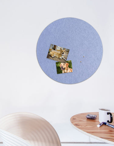 Circle Pinboard, Large in Peri