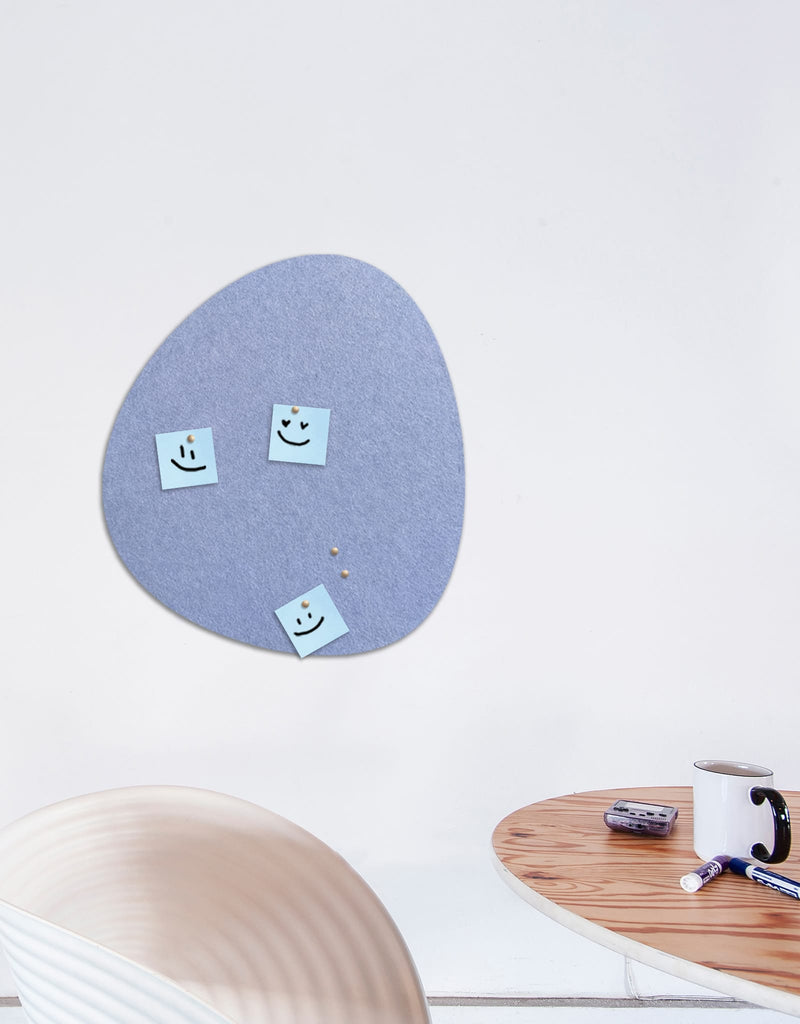 Pebble Pinboard, Small in Peri