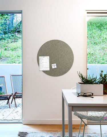 Circle Pinboard, Large in Stone