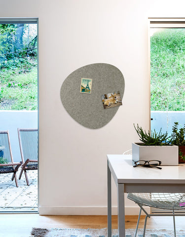 Pebble Pinboard, Large in Stone