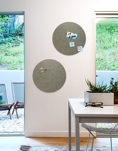 Circle Pinboard, Small in Stone
