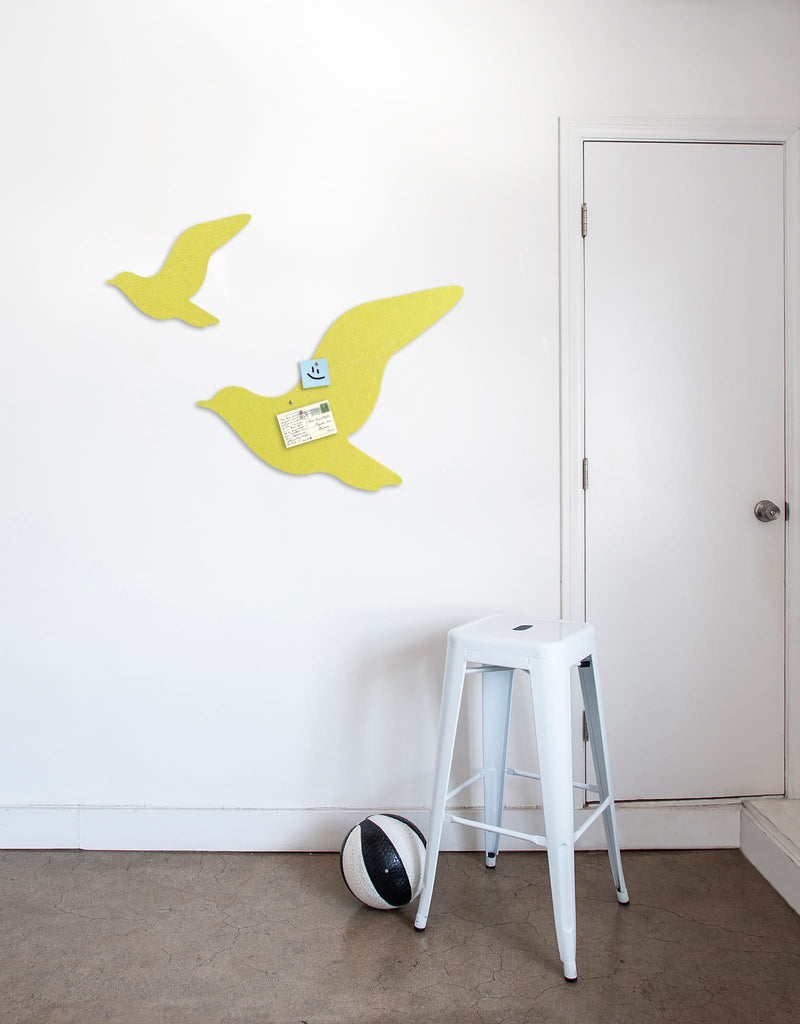 Fly Pinboard in Yellow