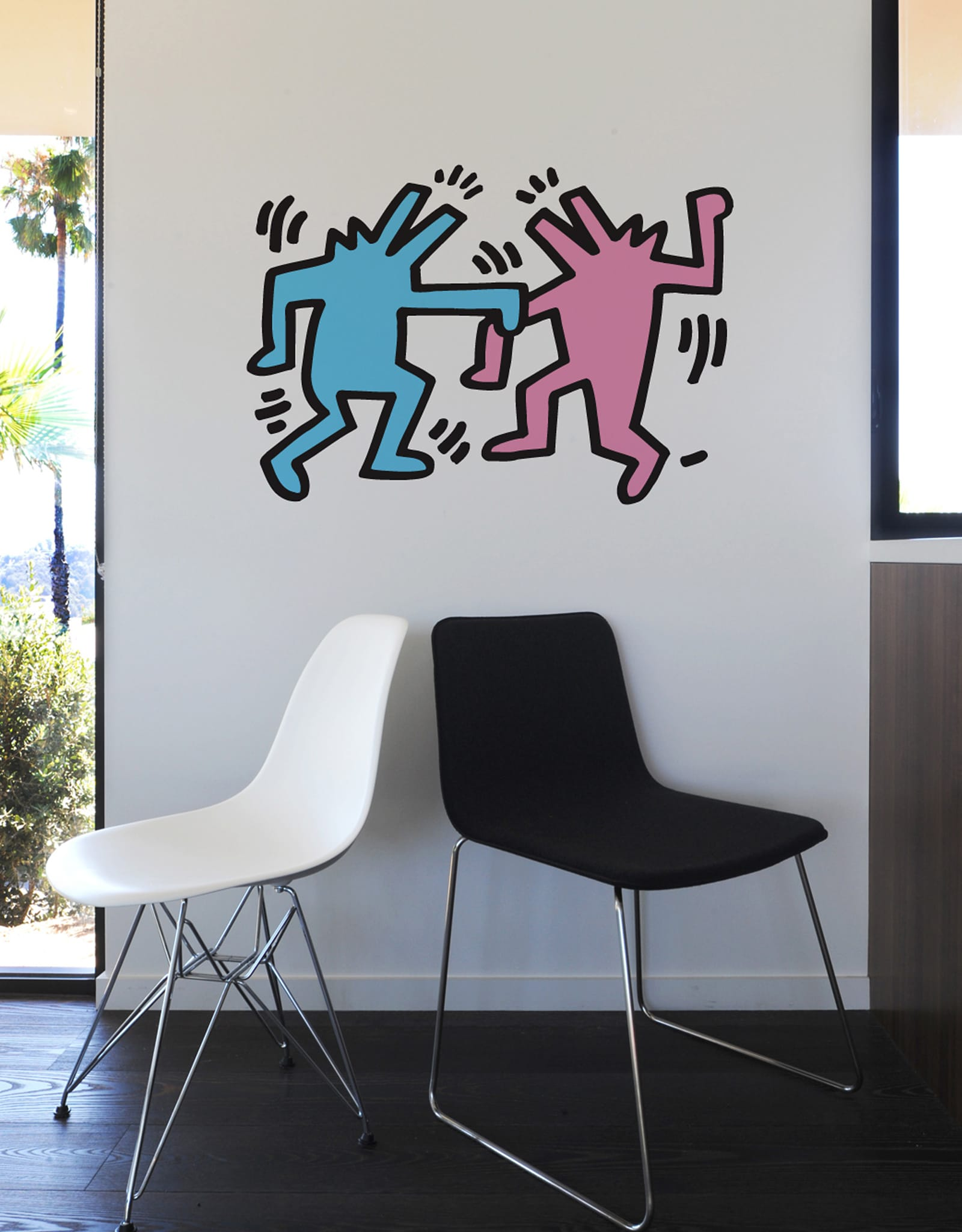 Blik self adhesive removable wall decals and artful home goods blik buy now dancing dogs gumiabroncs Image collections