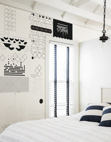 Monochrome Wall Panels