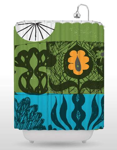 NCC Botanical Shower Curtain