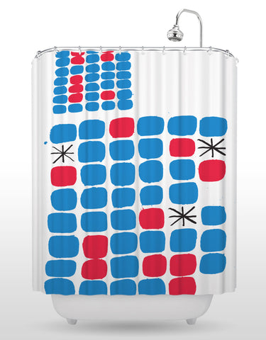 NCC Go Shower Curtain