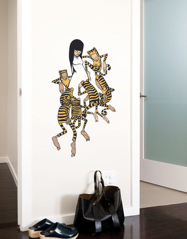 tiger kids - Wall Decals