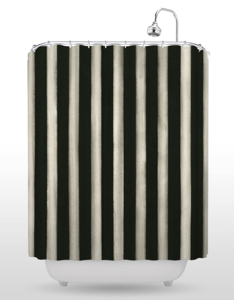 Black Op Shower Curtain