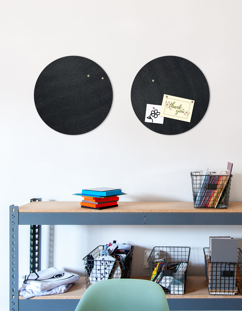 Circle Pinboard, Small in Black