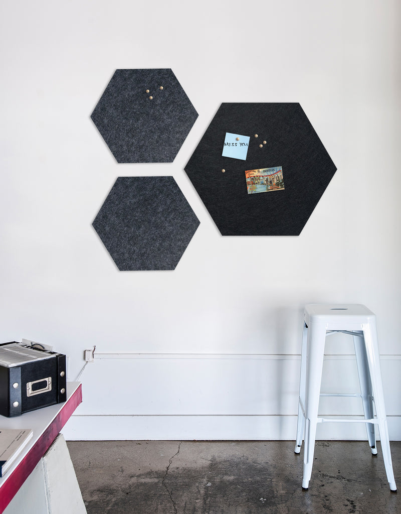 Hexagon Pinboard, Large