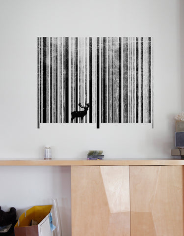 To Scan A Forest & Wall Graphics | Graphic Wall Decals | Blik
