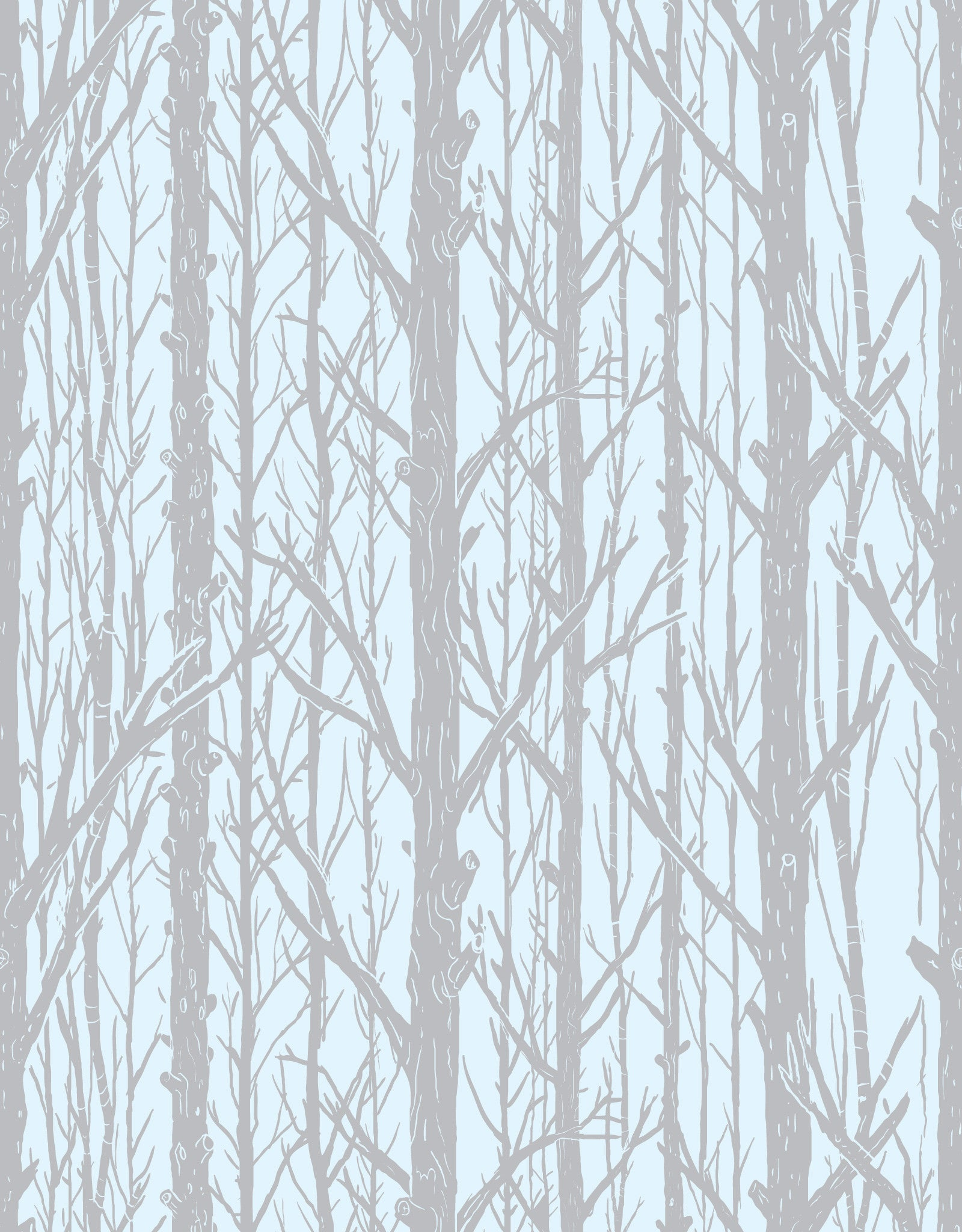 Trees Pattern Wall Tiles Blik