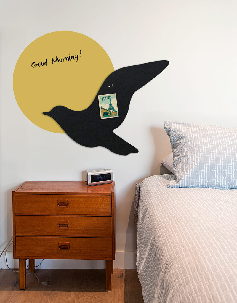 Fly Pinboard in Black