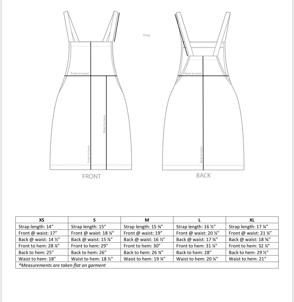 Ladies Modern Pinafore