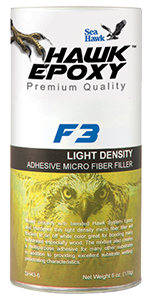 F3 Light Density Adhesive Micro Fiber Filler - ALL