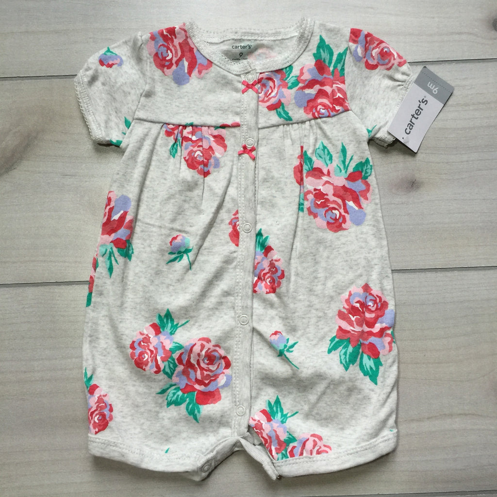 NEW Carter's Floral Romper