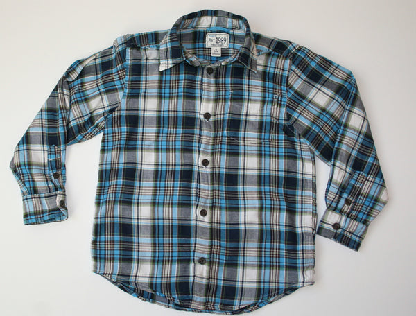 Children's Place Flannel Look Cotton Shirt