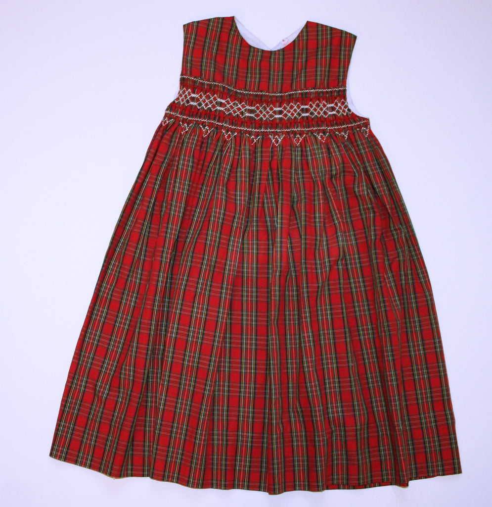 Oriental Express Heirloom Plaid Dress