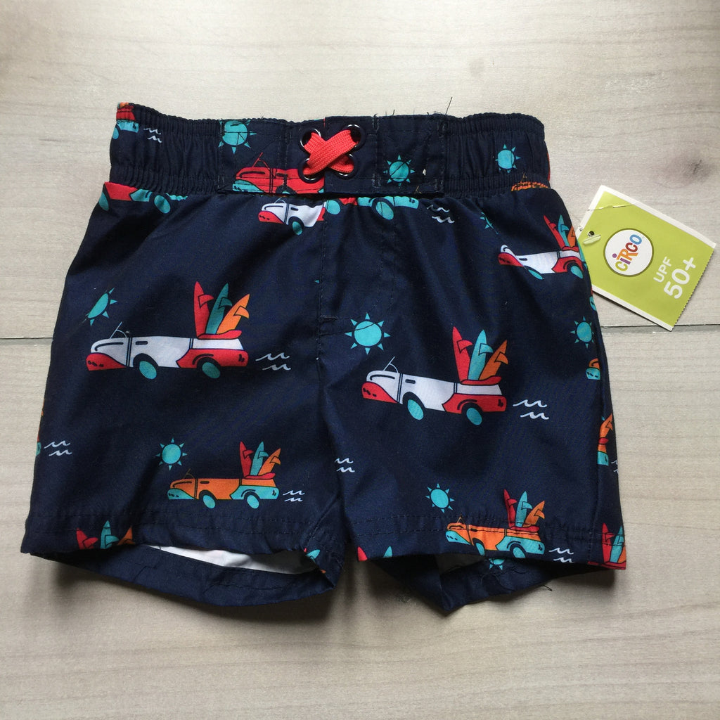 NEW Circo Surfer Pattern Swim Trunks