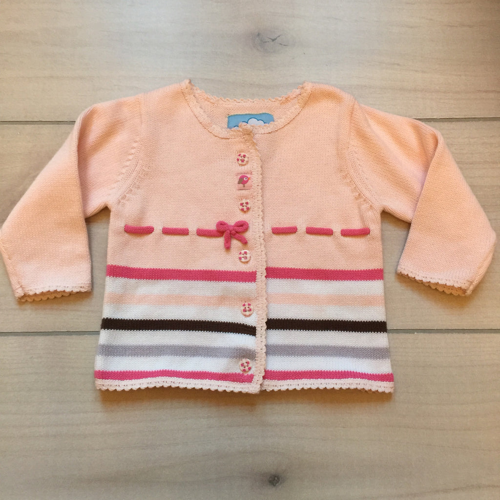 NEW Tiny Tillia Pink Striped Sweater