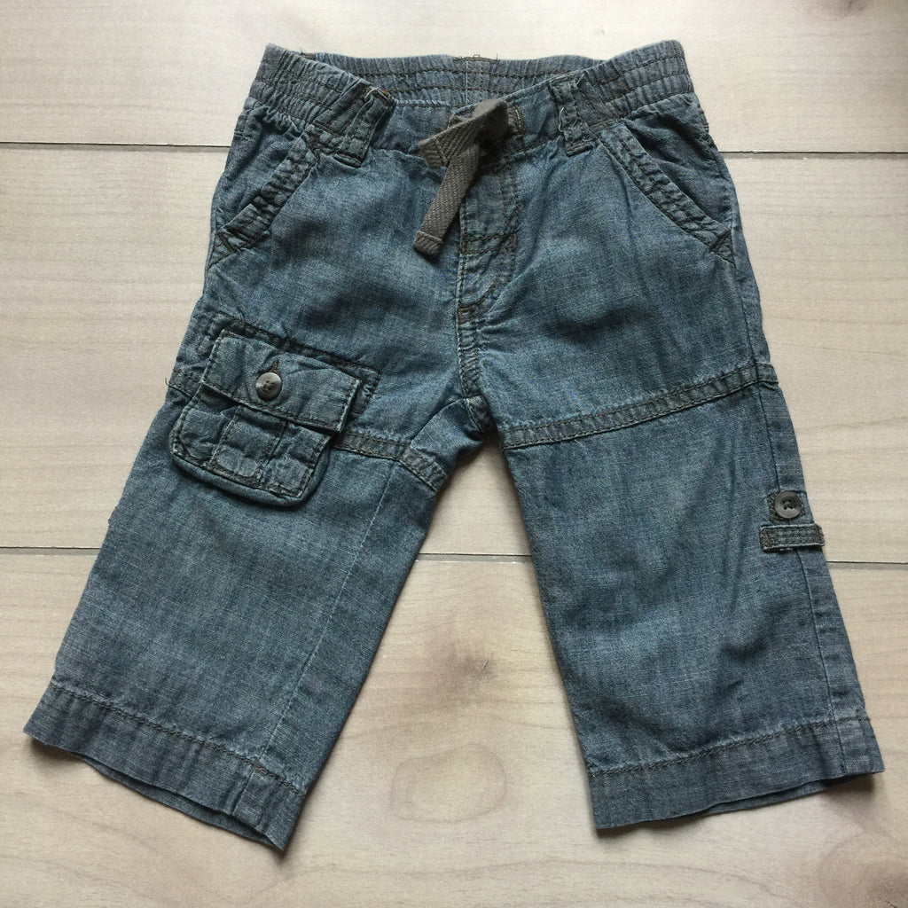 Old Navy Denim Cargo Pant