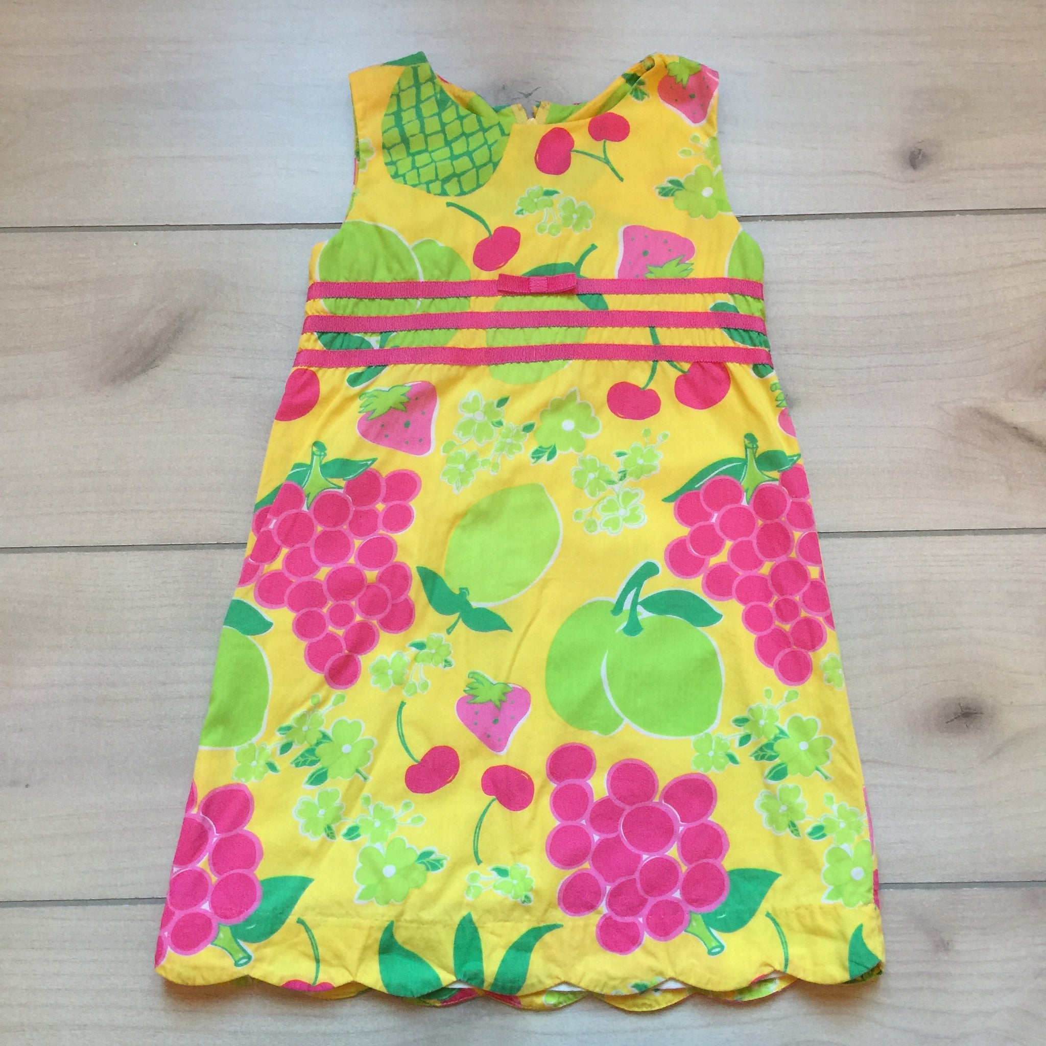 Lilly Pulitzer Fruit Print Shift Dress – Sweet Pea & Teddy