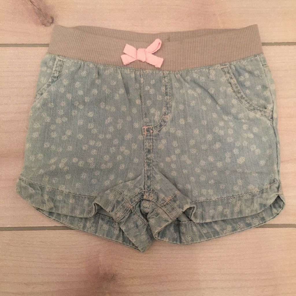 NEW Cherokee Blue Polka Dot Shorts