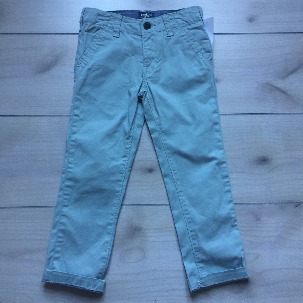 NEW Osh Kosh Teal Adjustable Waist Pant