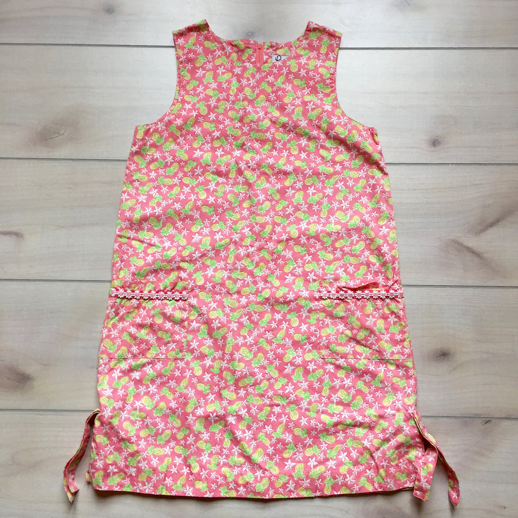 Lilly Pulitzer Pink Pineapple Print Shift Dress