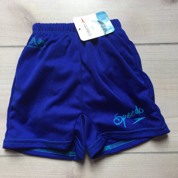 NEW Blue Speedo Swim Trunk Diaper