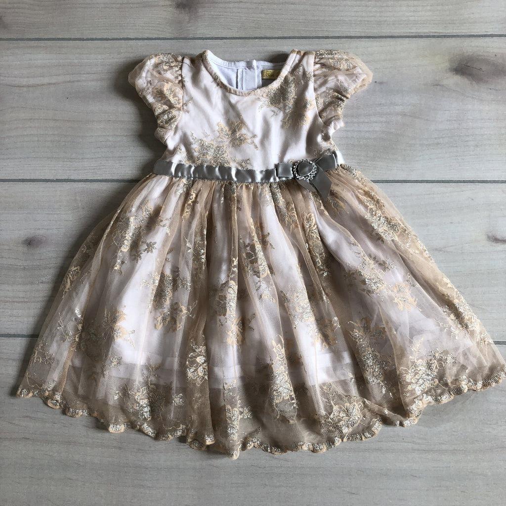 Bon Bleu Fancy Gold & Silver Sparkle Dress