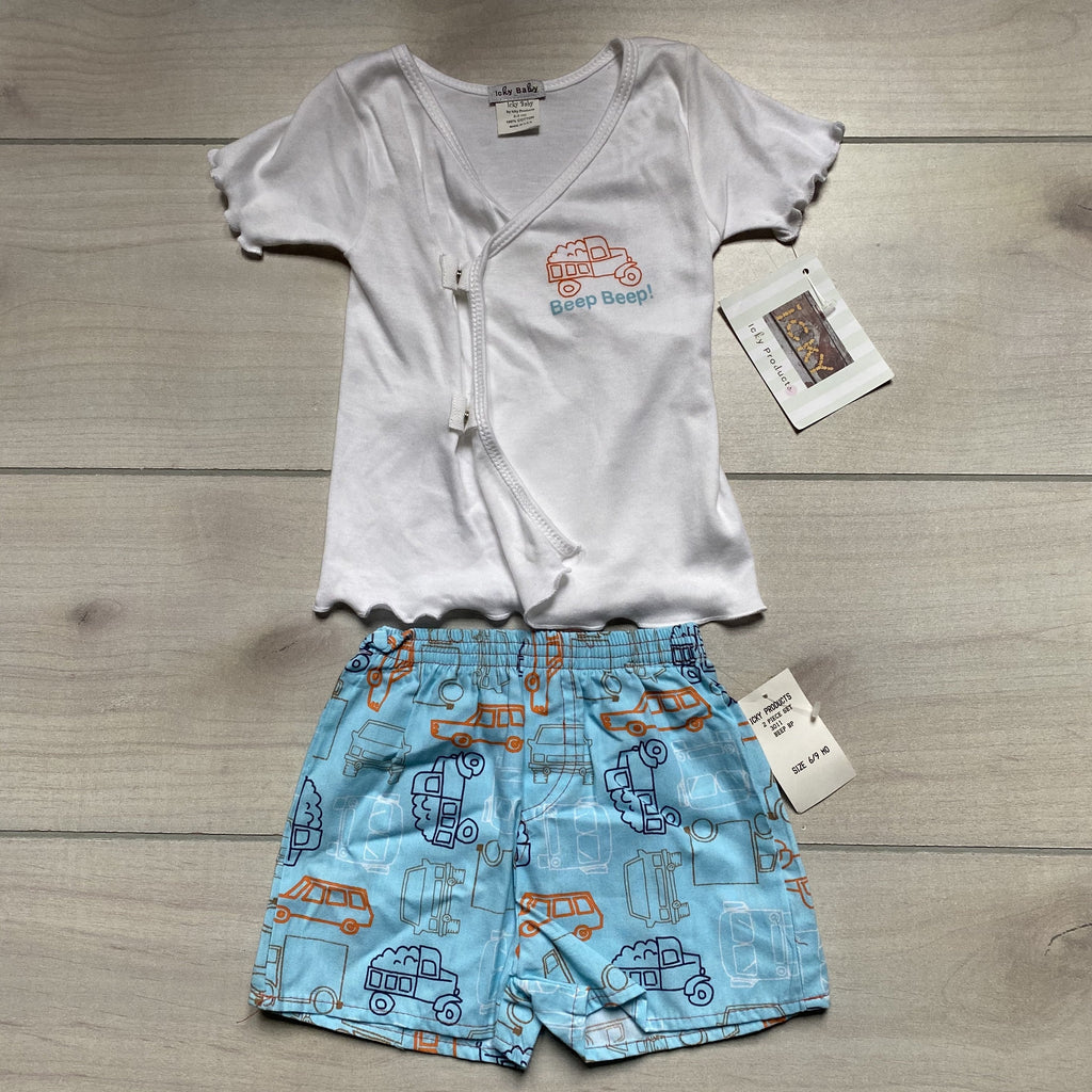 NEW Icky Baby Beep Beep Outfit - Sweet Pea & Teddy