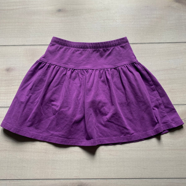 Lands End Purple Cotton Skort
