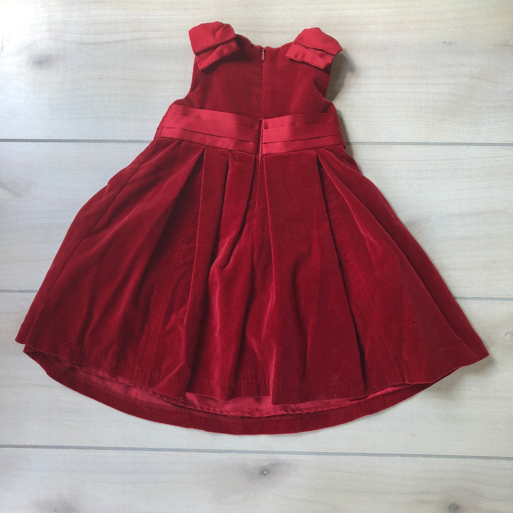 Gymboree Red Velvet Dress