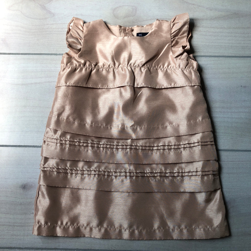 NEW Baby Gap Gold Sheath Shift Dress