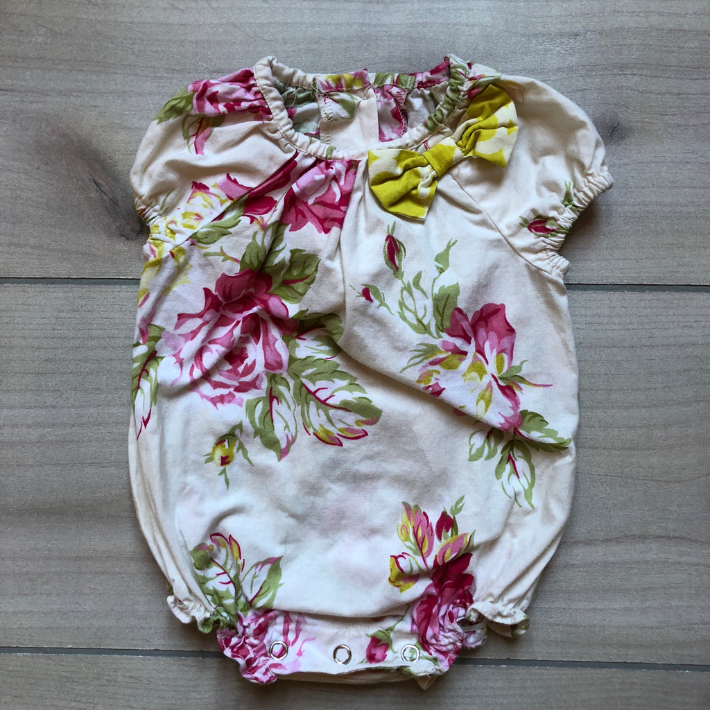 Persnickety Floral Bubble Romper