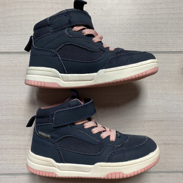 H&M Navy & Pink Sneaker Boots - Sweet Pea & Teddy