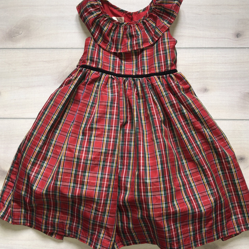 Laura Ashley Plaid Tartan Dress - Sweet Pea & Teddy