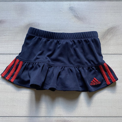 Adidas Navy & Red Performance Skort