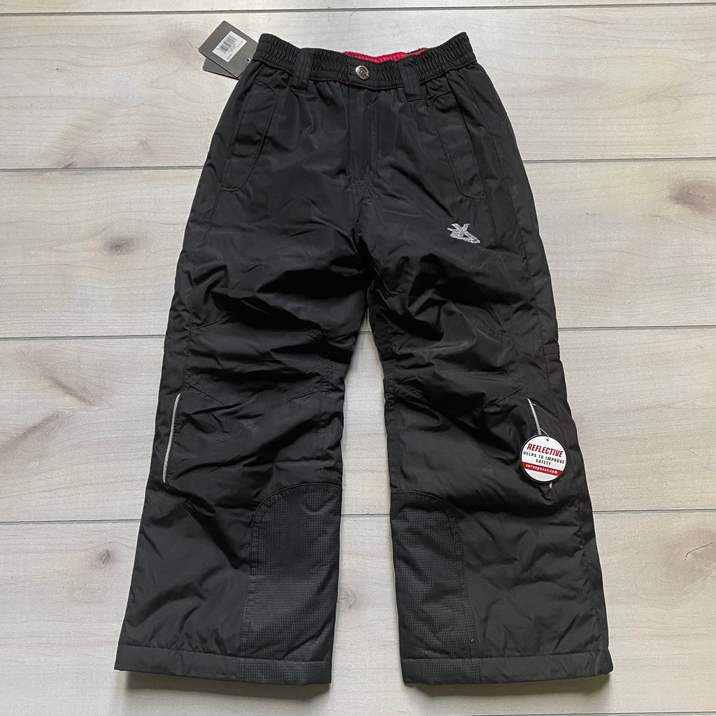 NEW XeroXposur Black Insulated Snow Pants